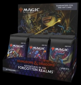 Adventures in the Forgotten Realms Set Booster Box (BAB)