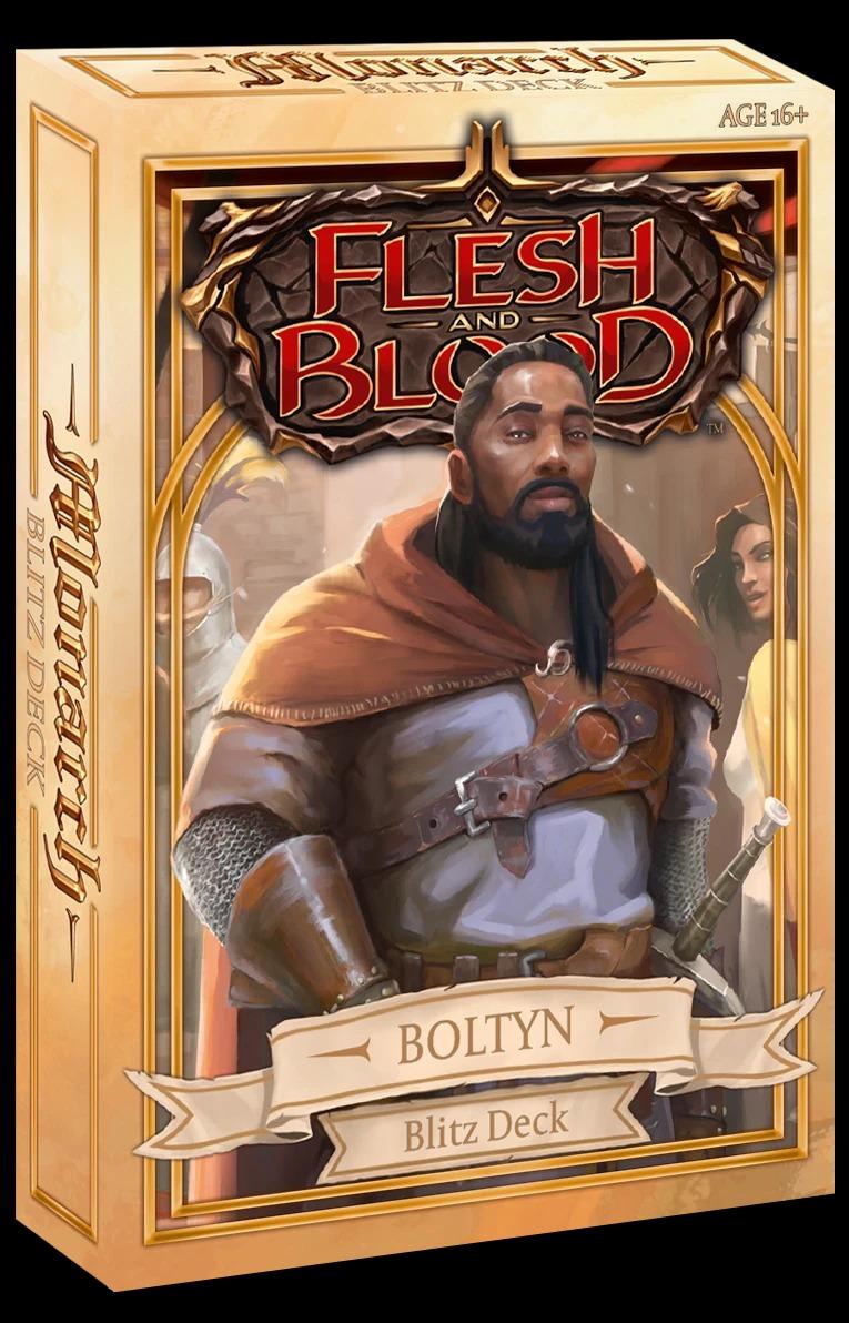 Monarch Blitz Deck: Boltyn